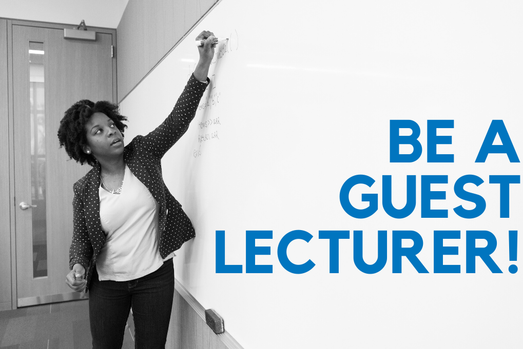 Call for guest lecturers!