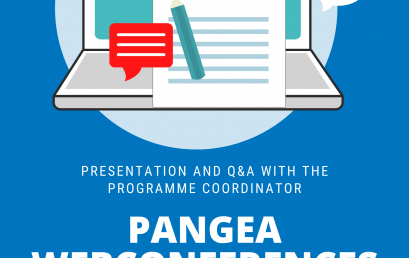 PANGEA Webconferences!